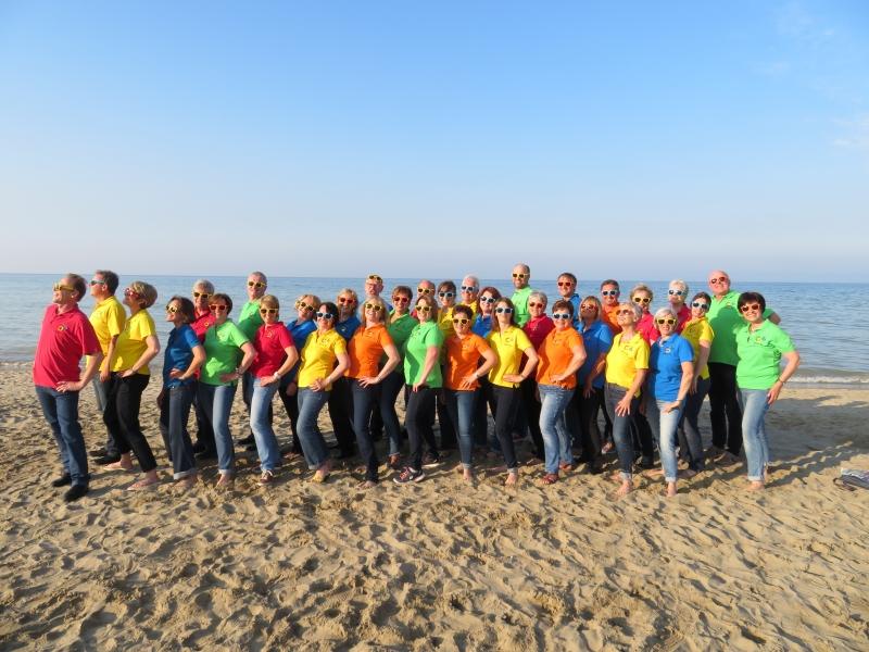 """Unvergessliche Chorreise nach San Marino zum Chorfestival """"Cantate Adriatica"""""""